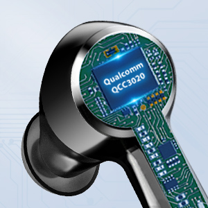 in-Ear Headphones with Charging Case CVC8 0 Apt-X
