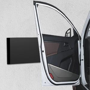 Rovtop premium Garagen Wandschutz T/ürkantenschutz Extra Dicker Auto T/ürkantenschutz Selbstklebend Wasserabweisend 4 St/ück Set f/ür Auto und Garagenwand Schwarz