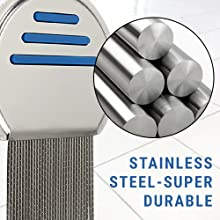 Stainless Steel-Super Durable