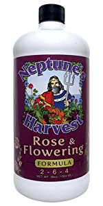 fertilizer flower food natural organic fish seaweed safe tomato vegetable fruit lawn rose