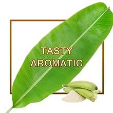 aroma aromatic raw banana healthy atta