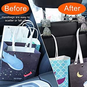 bling car seat organizer