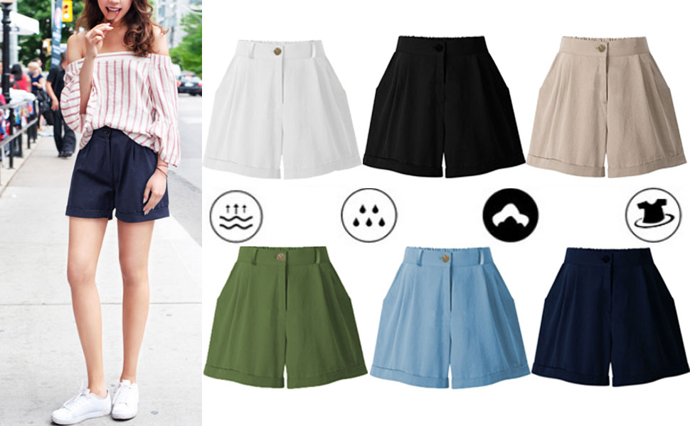 casual shorts for women comfy shorts for women plus size shorts women shorts khaki shorts for women