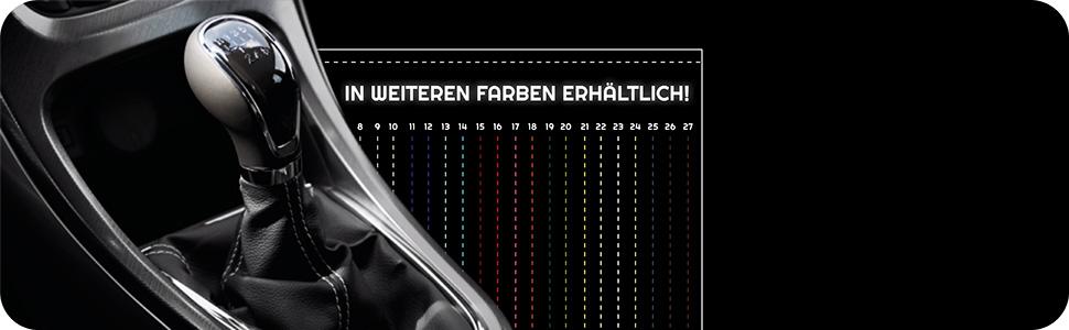 L P Car Design Schaltsack Schaltmanschette Kompatibel Mit Bmw 3er E30 E36 5er E34 100 Echtleder Leder Naht Rot Auto