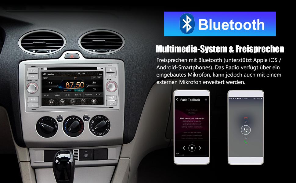 Awesafe Autoradio Mit Navi Für Ford Focus Unterstützt Elektronik