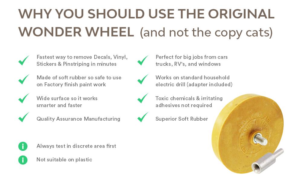 why the original whizzy wheel
