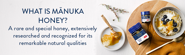 What is Manuka Honey? A rare and special honey, extensively researched and recognized.