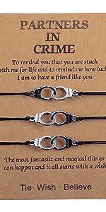 partner in crime bracelet