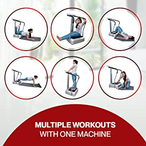 Multiple Workouts in One Machine