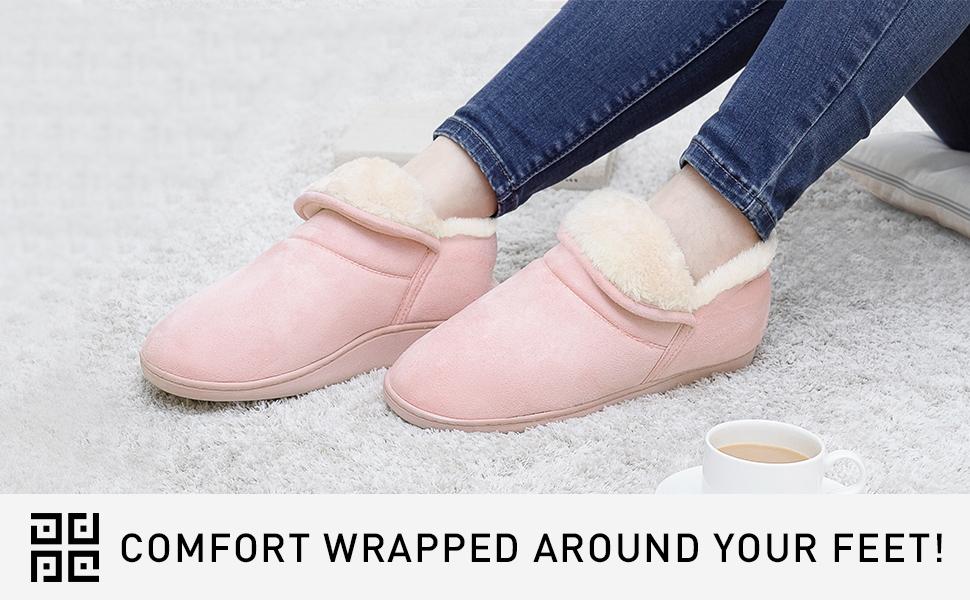 women bottie slippers