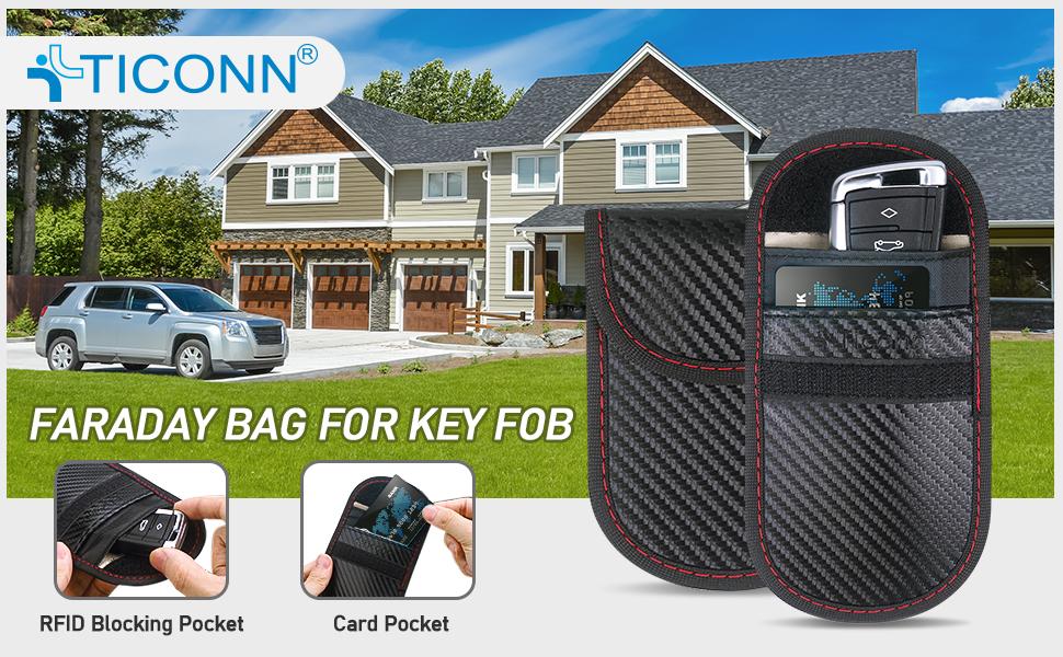 Ticonn faraday bag