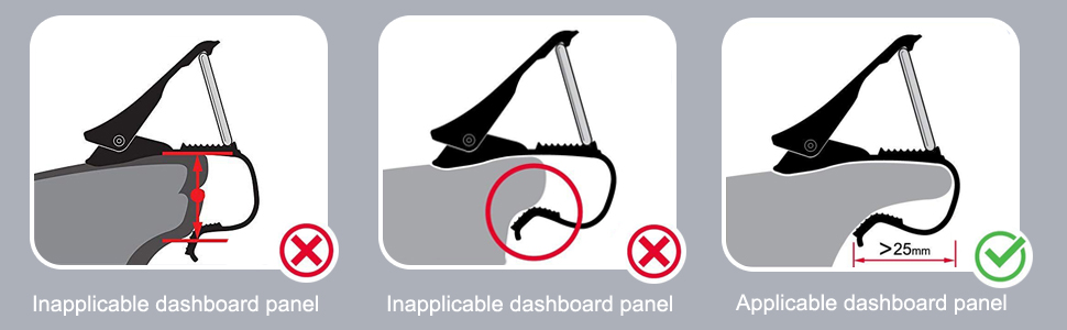 Please check carefully if yourcardashboard panel is applicable: