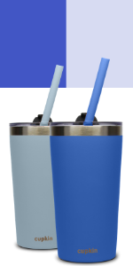 gray grey blue stainless steel kids cups lids straw