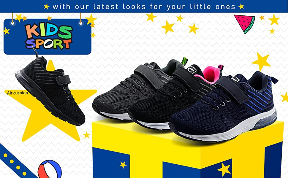 Boys and Girls Running Shoes