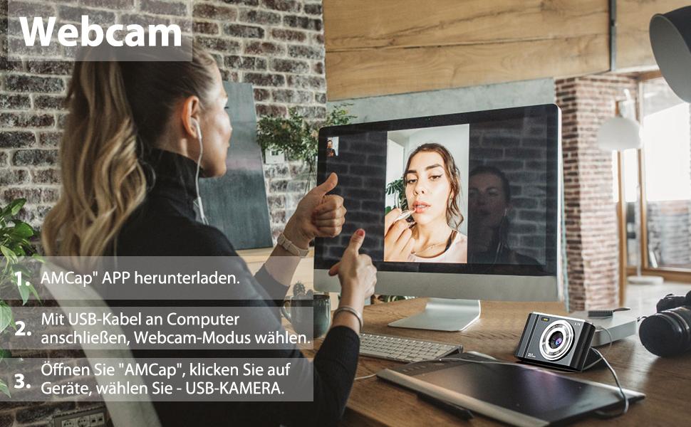 Digitalkamera webcam