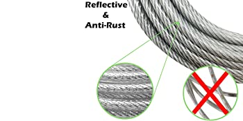 reflective and anti-rust