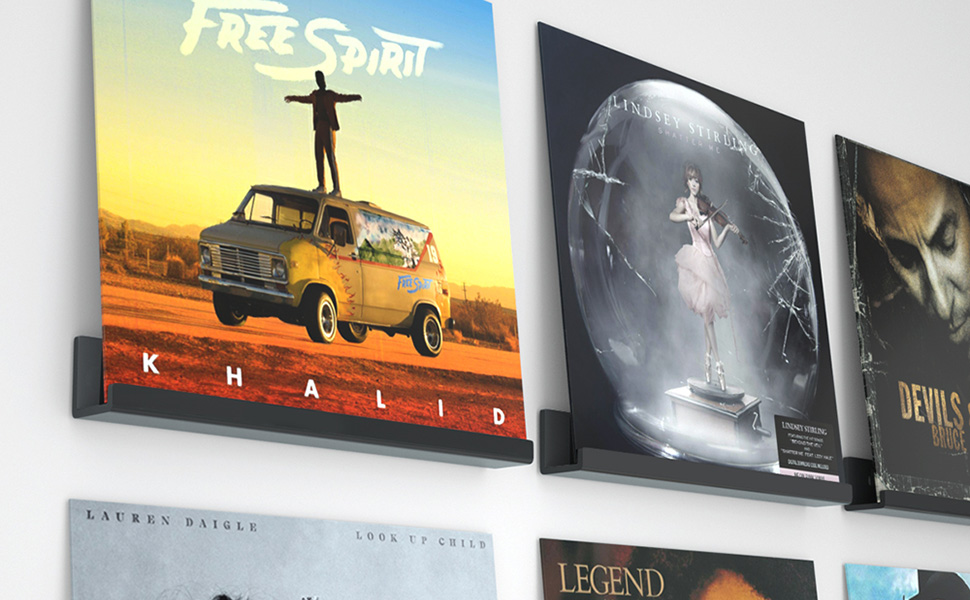 record wall mount