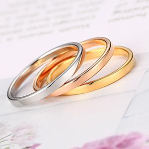 2mm stacking wedding rings