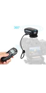 Wireless Shutter for Canon