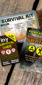 survival kit edc sas emergency disaster guide book relief safety scouts camping hiking outdoors