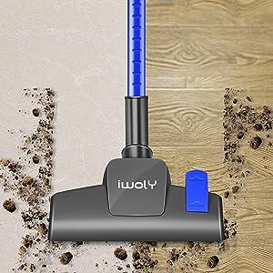 vacuum carpet and hard floor