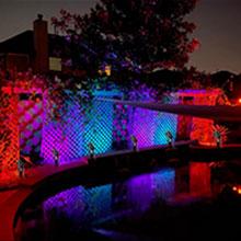 color changing landscape lights