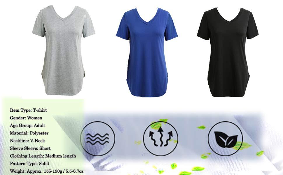 longline t shirt tops