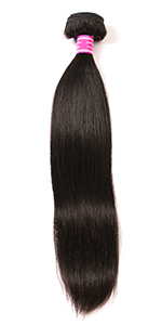 straight human hair bundles with closure frontal