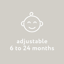 adjustable as they grow
