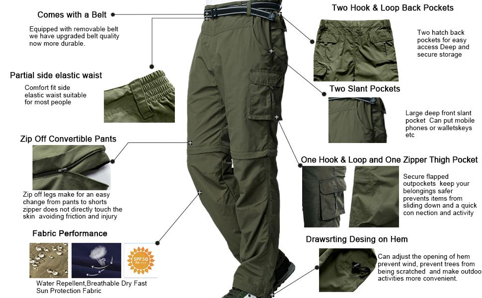 men Hiking Trouser