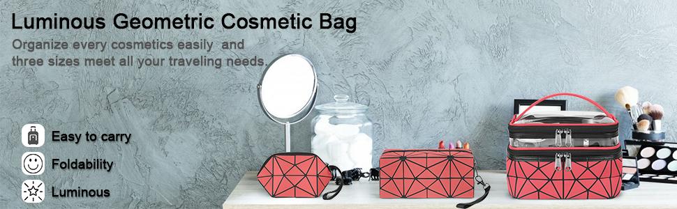 luminous cosmetic bag