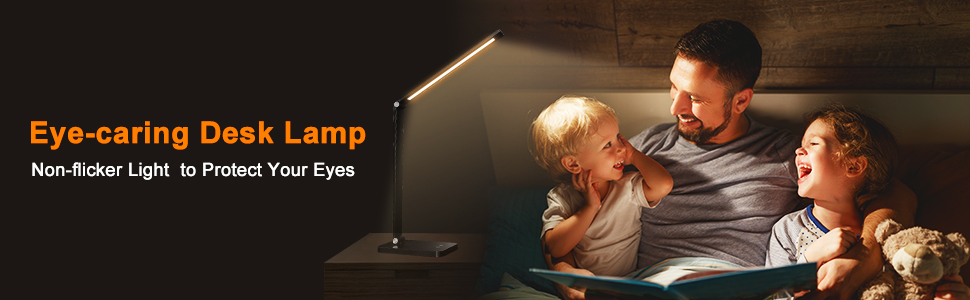 Eye-caring Desk Lamp
