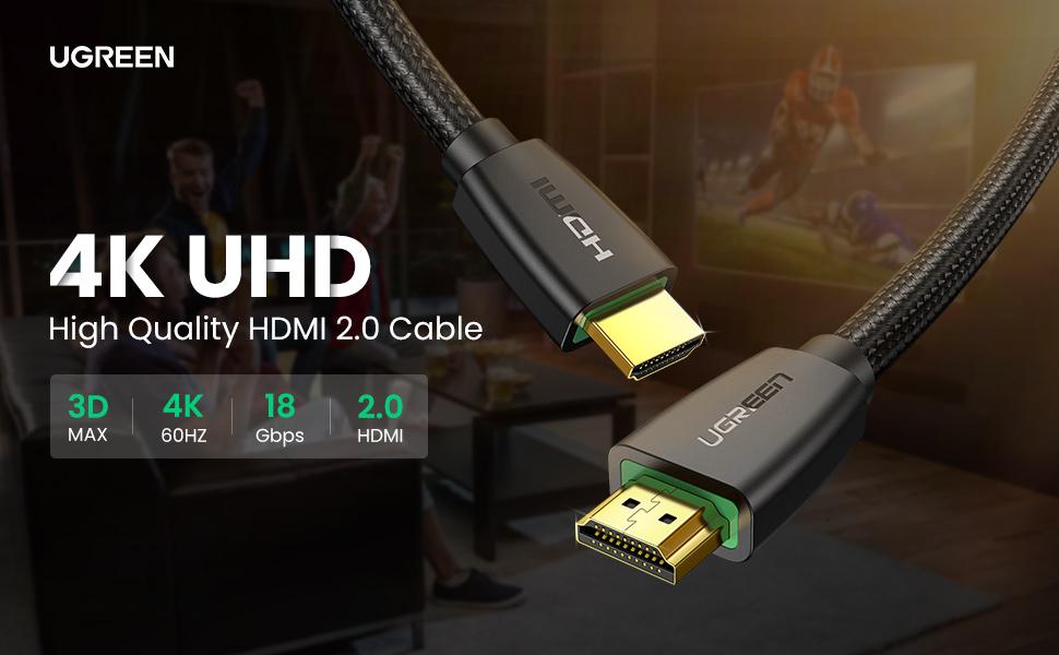 4k hdmi cable 60hz hdmi male to male uhd lead
