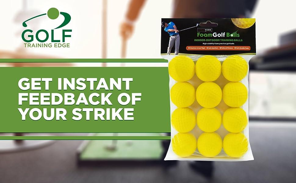 golf balls clubs wiffle whiffle hitting sponge pratice practive trainer aid