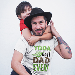 Star wars I'm your father shirt yoda best dad
