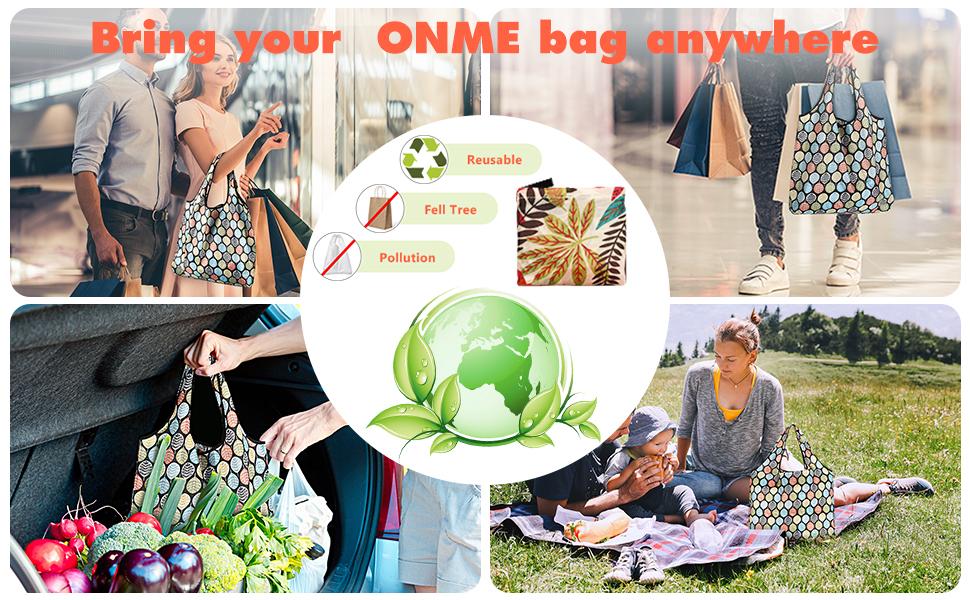 environmental friendly shopping bags