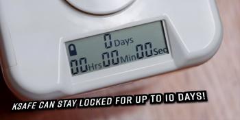 time locking safe up to 10 days