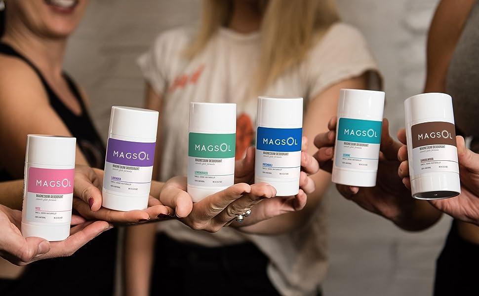 MAGSOL magnesium deodorant for women