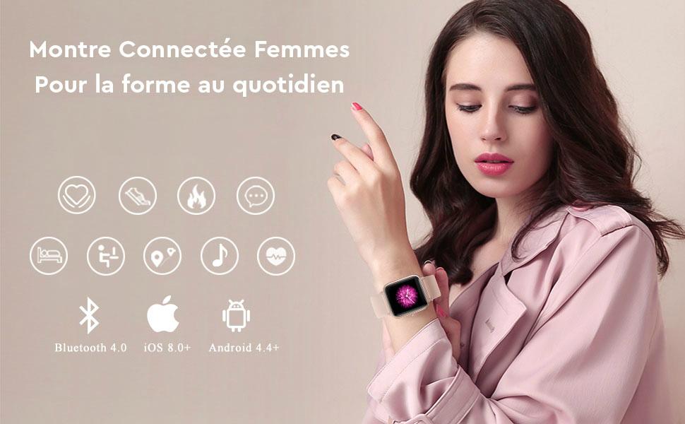 Reloj Inteligente Mujer