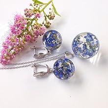 resina trasparente gioielli diy