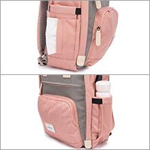 External side pockets