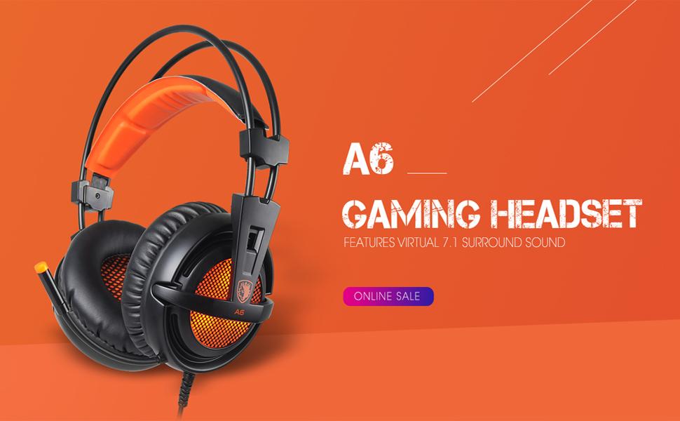 SADES Gaming Headset