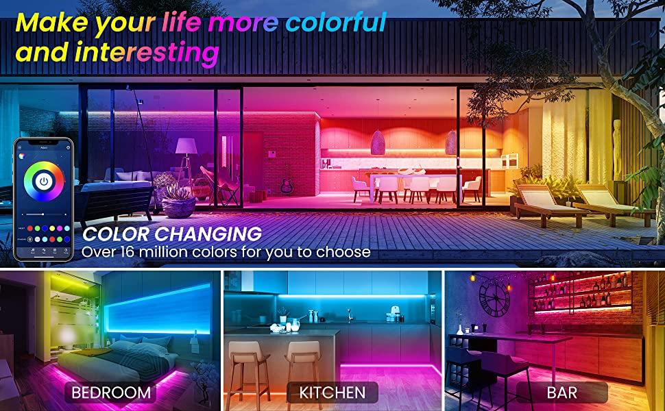 led lights for room