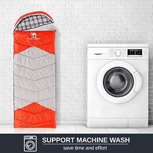 support machine wash