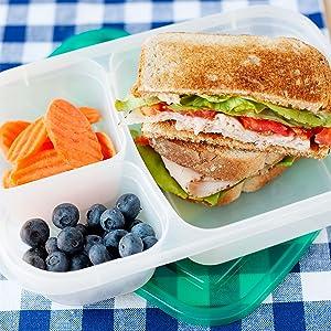 EasyLunchboxes, lunch box, lunchbox, lunch box containers, meal prep containers, lunch container,