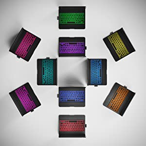 backlit, backlight, 10 color, colorful, backlight, ipad into laptop