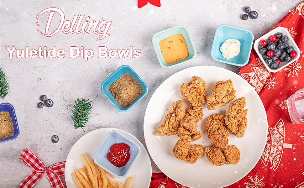 dip bowls
