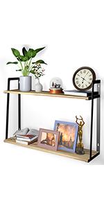 2 tier shelf