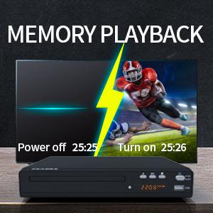 Memory playback