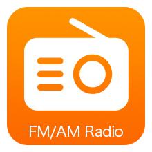 FM/AM radio receiver